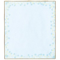 色紙 33123006 小花柄ブルー