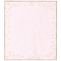 色紙 33122006 小花柄ピンク