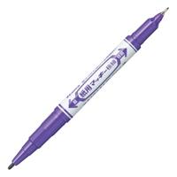 紙用マッキー極細 WYTS5-PU 紫