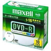DVD-R <4.7GB> DR47WPD.S1P10SA 10枚