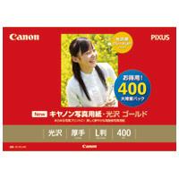 写真紙 光沢ゴールド GL-101L400 L 400枚