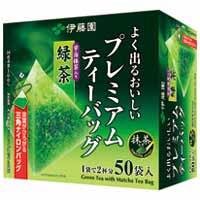 プレミアムティーバッグ 緑茶50P