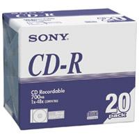 CD-R <700MB> 20CDQ80DNA 20枚