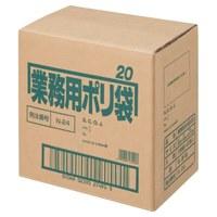 ポリゴミ袋 N-24 白半透明 20L 10枚 60組