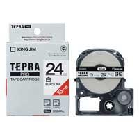 テプラPROテープSS24KL-5 白に黒字24mm 5個_選択画像01