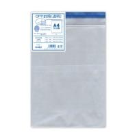 OPP厚口透明封筒 シ920 A4用 100枚