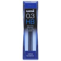 シャープペン替芯 ユニ 0.3mm U03202ND HB
