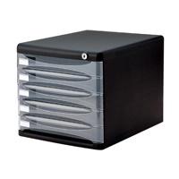 デスクトップ5段 A4-SK5D ブラック