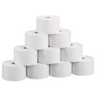 レジ用再生ロール紙 普通紙 R4575 10巻