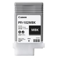 インクカートリッジ PFI-102MBK マット黒