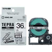 PROテープ強粘着 SS36KW 白に黒文字 36mm_選択画像01