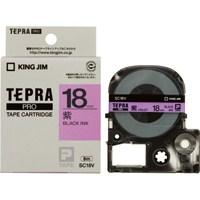 テプラPROテープ SC18V 紫に黒文字 18mm