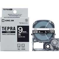 テプラPROテープ SD9K 黒に白文字 9mm