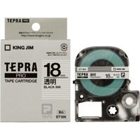 PROテープカートリッジ<透明ラベル>長さ:8m テープ幅:18mm