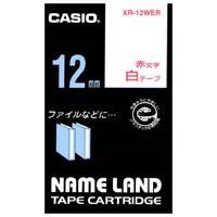 ラベルテープ XR-12WER 白に赤文字 12mm_選択画像01