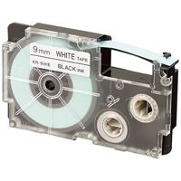 テープ 白に黒文字 XR-9WE 9mm 10本