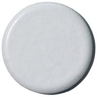 強力カラーマグネット 塗装18mm 白 B272J-W
