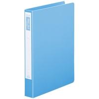 リング式ファイル D030J-SB10 スカイB10冊