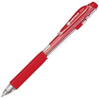 ゲルノックボールペン赤100本 H033J-RD-100