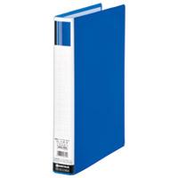 パイプ式ファイル両開きSE青10冊D173J-10BL