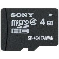 △microSDHCカード SR-4A4