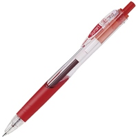 スラリボールペン0.7mm BN11-R 赤 10本