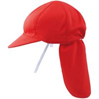 スポーツドライ紅白帽 日よけ付140103