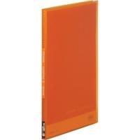 シンプリーズクリアファイル 186TSP橙