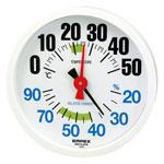 温湿度計 ルシード TM-2671K ホワイト