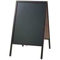 マーカー用A型黒板ダークブラウン B341J