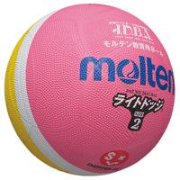 ◎ドッジボール1号ピンク*レモン B611J-PL