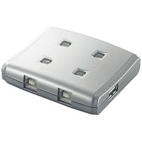 USB切替器4切替 USS2-W4