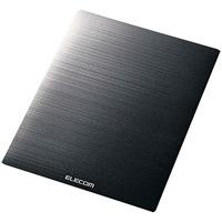 マウスパッド ノーマルサイズ黒 MP-118BK
