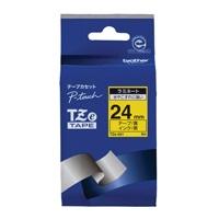 文字テープ TZe-651黄に黒文字 24mm