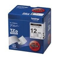 文字テープ TZe-231V白に黒文字 12mm 5個