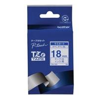 文字テープ TZe-243白に青文字 18mm