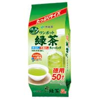 ◆ワンポット抹茶入り緑茶ティーバッグ50袋
