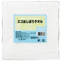 エコおしぼりタオル5枚セット ホワイト9512