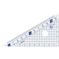 はしゼロ目盛り三角定規10cm APJ132