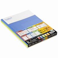 ロジカルノートセミB5 B罫5冊 ノ-B501B-5P
