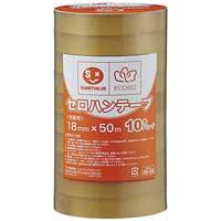 セロハンテープ18mm×50m200巻 B642J-200