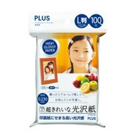 超きれいな光沢紙 IT-100L-GC L判 100枚