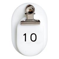 親子札 #7149 BO-1W 1~50(50組) 白