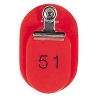 親子札 #7152 BO-51R 51~100(50組) 赤