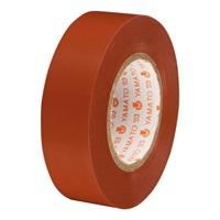 ビニールテープ NO200-19 19mm*10m 茶 10巻