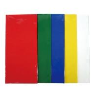 カラーセロファン 4ツ切 20枚 450×500 緑