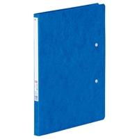 パンチレスファイル B5/B4二折 F302 藍