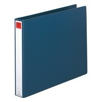 コンピュータバインダー C8-1115 藍 10冊