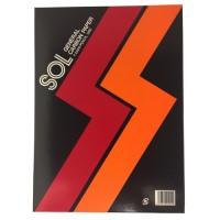 ゾルカーボン紙 #2300-R 両面筆記 赤