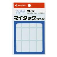 マイタック ラベル ML-17 白無地/一般